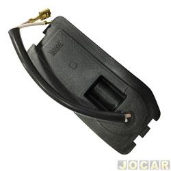 Soquete da lanterna dianteira - alternativo - Uno/Fiorino 1991 até 2004 - Prêmio/Elba 1991 até 1996 - encaixe Arteb - lado do motorista - cada (unidade)