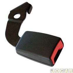 Trava do cinto de segurança - alternativo - Palio/weekend/Siena/Strada - 1996 até 2000  - 938.20 - preto - lado do passageiro - cada (unidade)