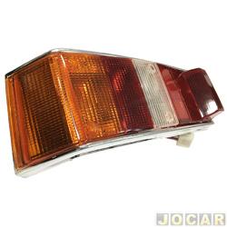 Lanterna traseira - alternativo - Acrilux - Spazio 1981 até 1986 - tricolor - lado do motorista - cada (unidade) - 2124-11
