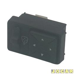 Interruptor do retrovisor - Kostal - Tempra 1992 até 1999 - cada (unidade) - 3250500