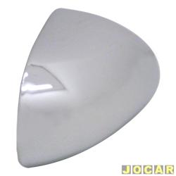Capa do retrovisor - alternativo - Brava - Marea - encaixe Ficosa - cromada - lado do passageiro - cada (unidade)