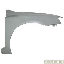 Para-lama dianteiro - alternativo - Stilo 2002 até 2011 - para pintar - lado do passageiro - cada (unidade)