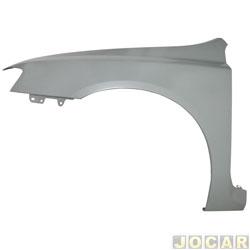Para-lama dianteiro - alternativo - Stilo 2002 até 2011 - para pintar - lado do motorista - cada (unidade)