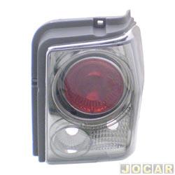 Lanterna traseira tuning - alternativo - Inovox (RCD) - Tipo 1993 até 1997 - linha Evolution  - fumê - lado do passageiro - cada (unidade) - I2494