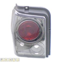 Lanterna traseira tuning - alternativo - Inovox (RCD) - Tipo 1993 até 1997 - linha Evolution  - fumê - lado do motorista - cada (unidade) - I2495