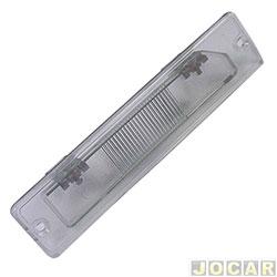Lente lanterna da placa - alternativo - Tempra - 1992 até 1999 - cada (unidade)