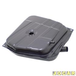 Tanque de combustível - alternativo - Igasa - Oggi/Panorama 1980 até 1986 - 52 litros - preto - cada (unidade) - 2003