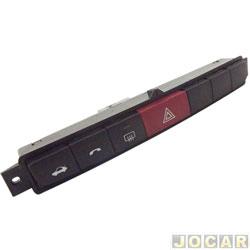 Interruptor de emergência - Punto/Linea 2008 em diante - com abertura porta mala - cada (unidade)