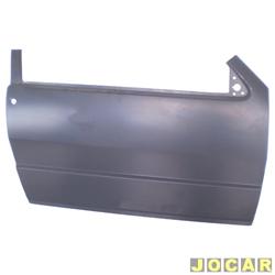 Folha de porta - alternativo - IGP - Elba/Prêmio/Uno - 1984 até 2010 - 2 portas - para pintar - lado do passageiro - cada (unidade) - 326