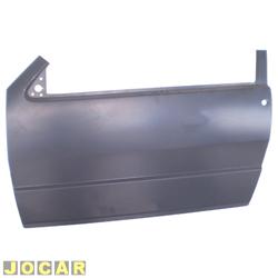 Folha de porta - alternativo - IGP - Elba/Pr�mio/Uno - 1984 at� 2010 - 2 portas - para pintar - lado do motorista - cada (unidade) - 327