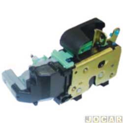 Fechadura da porta - alternativo - Idea 2006 em diante - com trava elétrica - lado do motorista - traseiro - cada (unidade)