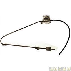 Máquina de vidro - alternativo - Iveco Daily 1997 até 2007 - elétrica para motor mabuchi - lado do motorista - cada (unidade)