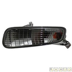 Lanterna do para-choque - Fitam - Punto 2013 em diante - fumê - dianteiro - lado do motorista - cada (unidade) - 35047-E