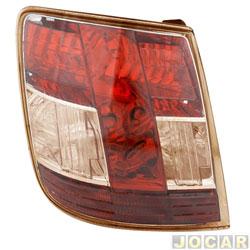 Lanterna traseira - alternativo - Acrilux - Stilo 2008 em diante - bronze - lado do motorista - cada (unidade) - 8700-BRON-ESQ