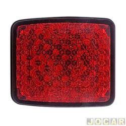 Lanterna do para-choque - Doblo 2010 em diante  - defletor acrilica - vermelha - traseiro - cada (unidade)