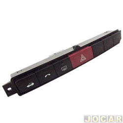 Interruptor de emergência - alternativo - Punto 2006 em diante - Desembaçador - cada (unidade)