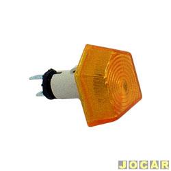 Lanterna do para-lama - alternativo - 147 Spazio - âmbar (amarela) - cada (unidade)