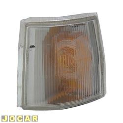 Lanterna dianteira - Valeo/Cibié - Uno 1991 até 2004 - Elba/Prêmio - 1991 até 1996 - Fiorino - 1987 até 2004 - lado do motorista - cada (unidade) - 044.785