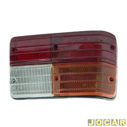 Lanterna traseira - alternativo - RN Lanternas - 147/Europa - 1976 at� 1983 - lado do passageiro - cada (unidade) - 8002