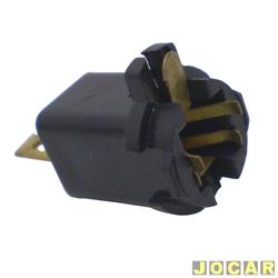 Soquete da lâmpada do painel - alternativo - Fiat - preto - cada (unidade)