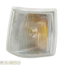 Lanterna dianteira - alternativo - Cofran - Uno 1991 até 2004 - Elba/Prêmio - 1991 até 1996 - Fiorino 1991 até 2004 - encaixe Cibié - cristal (branca) - lado do motorista - cada (unidade) - 3509.3