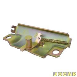 Batente da fechadura do capô traseiro - Uno - 1984 até 1990 - cada (unidade)