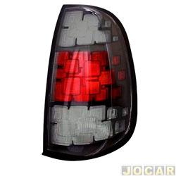 3a5e90550 Lanterna traseira - importado - Uno 2015 em diante - fumê - lado do  passageiro -