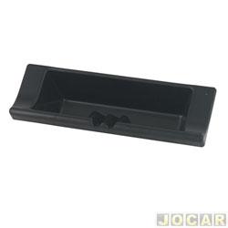 Porta objetos - alternativo - Uno/Fiorino 1994 em diante - painel moderno - preto - cada (unidade)
