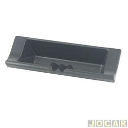 Porta objetos - alternativo - Uno/Fiorino 1994 em diante - painel moderno - cinza - cada (unidade)