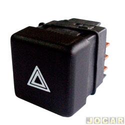 Interruptor de emergência - Uno/Elba/Prêmio até 1992 - Uno Mille Electronic até 1994 - cada (unidade)