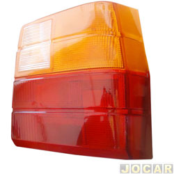 Lente da lanterna traseira - alternativo - Uno 1984 até 2004 - lado do passageiro - cada (unidade)