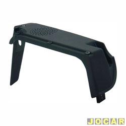 Suporte tampão do porta-malas - Original Fiat - Uno 1984 até 2004 - 4 portas  - preta - lado do passageiro - cada (unidade) - 41139