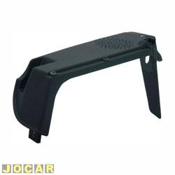 Suporte tampão do porta-malas - Original Fiat - Uno 1984 até 2004 - 4 portas  - preta - lado do motorista - cada (unidade) - 41140