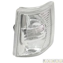 Lanterna dianteira tuning - alternativo - Inovox (RCD) - Uno/Fiorino 1991 até 2004 - Elba/Prêmio 1991 até 1996 - linha Evolution - encaixe Cibié - lado do passageiro - cada (unidade) - I2368