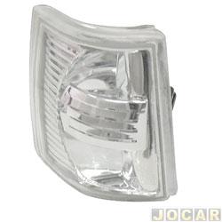 Lanterna dianteira tuning - alternativo - Inovox (RCD) - Uno/Fiorino 1991 até 2004 - Elba/Prêmio 1991 até 1996 - linha Evolution - encaixe Cibié - lado do motorista - cada (unidade) - I 2369