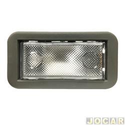 Lanterna de teto - alternativo - Uno 2005 em diante - moldura cinza - cada (unidade)