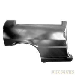 Lateral traseira - alternativo - IGP - Uno 1984 até 2004 - 2 portas - do vidro para baixo - para pintar - lado do passageiro - cada (unidade) - 332