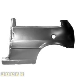 Lateral traseira - alternativo - IGP - Uno 1984 até 2004 - 2 portas - do vidro para baixo - para pintar - lado do motorista - cada (unidade) - 331