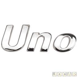 Letreiro - alternativo - Uno 1984 até 2013 - Uno - cada (unidade)