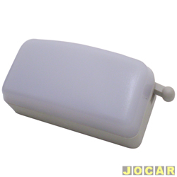 Lanterna de teto - alternativo - Uno 1993 em diante - simples - cinza claro - cada (unidade)