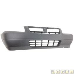 Para-choque dianteiro - Original Fiat - Uno Way 2009 em diante - cinza - cada (unidade) - 100 177 169