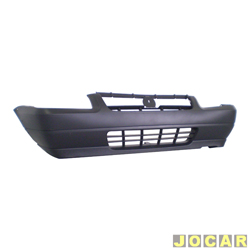 Para-choque dianteiro - Original Fiat - Uno Way 2008 até 2013 - preto - cada (unidade) - 41626