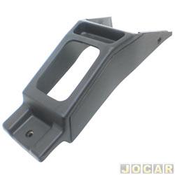 Console - alternativo - Uno/Fiorino/Prêmio/Elba 1995 até 2004 - preto - cada (unidade)