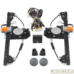 Kit vidro elétrico - alternativo - Micro - Uno 2011 até 2014 - inclusive 2015 em diante - sensorizado - 4 portas dianteiro - jogo - 70486