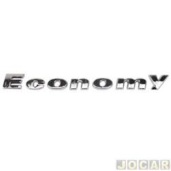 Letreiro - alternativo - ECONOMY /11 - CROMADO - cada (unidade)