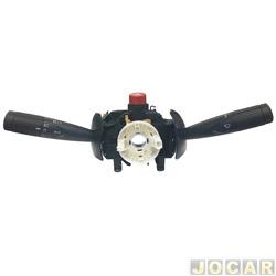 Chave de seta - Kostal - Uno/Fiorino 2009 em diante - com limpador dianteiro - preta - cada (unidade) - 10015565