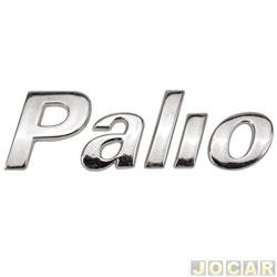 Letreiro - alternativo - Marçom - Palio 2001 até 2003 - PALIO auto colante - cromado - cada (unidade) - 0582