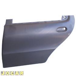 Folha de porta - alternativo - Palio - 1996 até 2003 - Siena - 1997 até 2004 - 4 portas - para pintar - traseiro - lado do motorista - cada (unidade)
