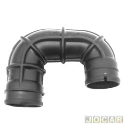Mangueira do filtro de ar - alternativo - Gonel - Palio/Siena - fire 1.0 8V - 2001 em diante - preta - cada (unidade) - G-3310