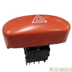 Interruptor de emergência - Kostal - Palio/Strada/Siena - 1996 até 2000 - e desenbaçador - calafetação interna - cada (unidade) - 421220